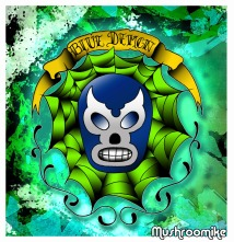 Blue Demon Digital coloring