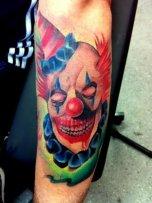 color-killer-joker-clown-tattoo