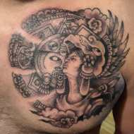 aztec warriow