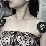 borneo shoulder tattoo