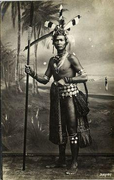 borneo native tattooing